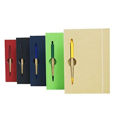 Canarinho Brindes - Bloco de anotações com caneta ecológica