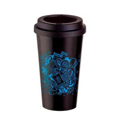 Canarinho Brindes - Copo de Café Personalizado   CAPACIDADE: 550 ml  MATERIAL: PS   TIPO DE GRAVAÇÃO: Silkscreen