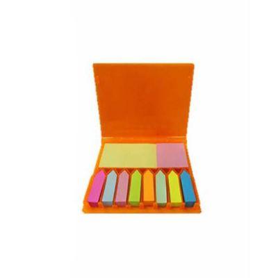 Canarinho Brindes - Bloco de anotações com  sticky notes coloridos