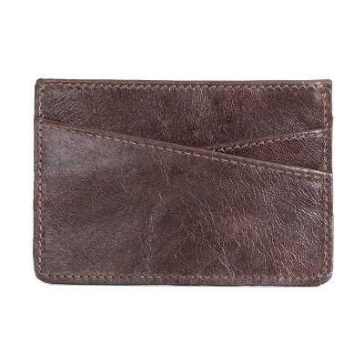 alvo-couro - Porta cartão de couro