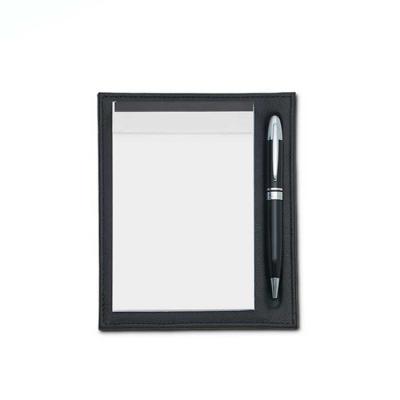 alvo-couro - Porta bloco com suporte que segura com segurança todas as suas folhas, e porta caneta. Perfeito para usar no ambiente de trabalho. Com design sofistic...