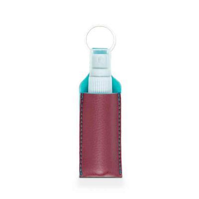 Alvo Couros - Porta Álcool em gel borrifador / chaveiro