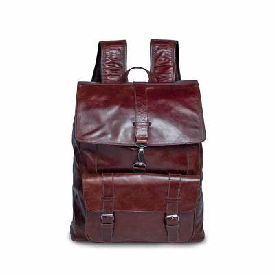 Alvo Couros - Linda mochila de couro com design elegante e moderno, modelo estilo sacola, super espaçosa com suporte para notebook, alças anatômicas de ombro, alça...