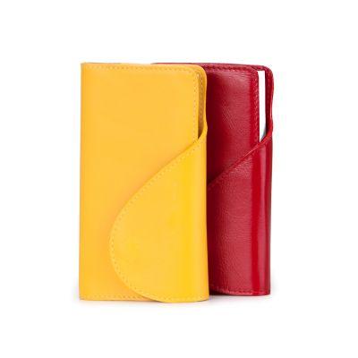 Alvo Couro - Agenda de bolso em couro
