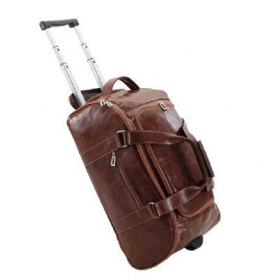 Alvo Couros - Bolsa de viagem em couro legítimo