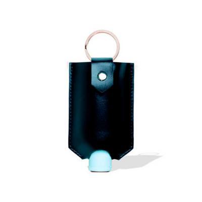 Alvo Couros - Porta álcool em gel de chaveiro