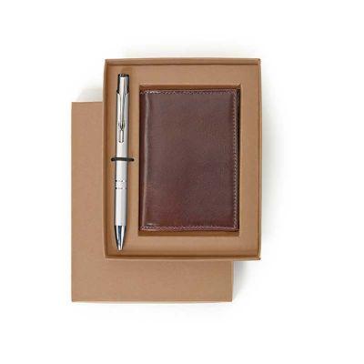 Alvo Couros - Kit porta cartão de couro