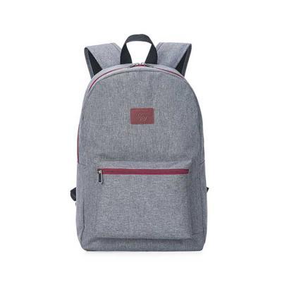 Alvo Couros - Mochila moderna com um amplo espaço interno, em linho + couro legítimo possui um bolso frontal,  porta notebook,  alça de mão e alças de ombro, ou sej...