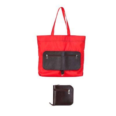 Alvo Couros - Versátil, quando aberta, a sacola dobrável em nylon possui muito espaço para guardar tudo o que lhe for necessário. Quando não mais utilizada, pode se...