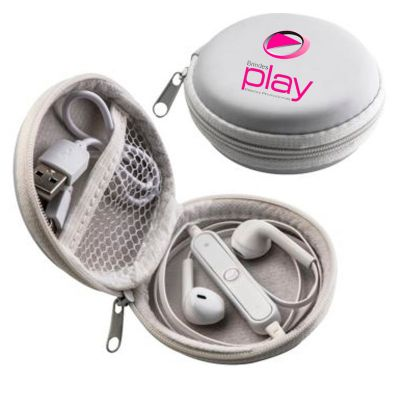 brindes-play - Kit USB com fone de ouvido
