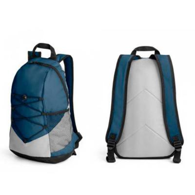 BrinClass - Mochila esportiva de poliéster com bolso lateral.