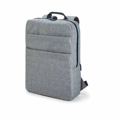 BrinClass - Mochila para notebook. 600D de alta densidade. Compartimento para notebook 15.6''. Interior forrado e almofadado. Com bolsos frontais. 295 x 390 x 100...