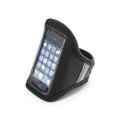 Brindes Play - Braçadeira para celular personalizada