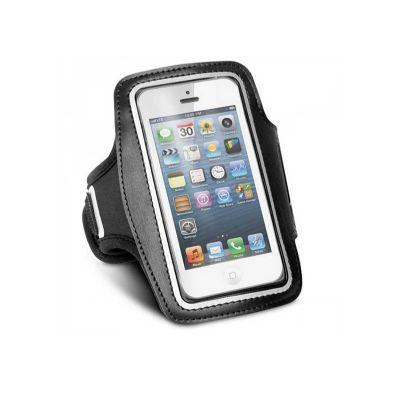 Brindes Play - Braçadeira para celular personalizada.