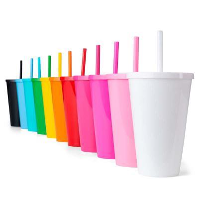 BrinClass - Copo Plástico 650 ml Litro com Tampa