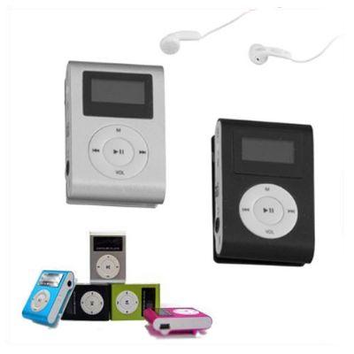 Brindes Play - Mini MP3 Player com capacidade até 16 GB.