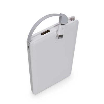 Brindes Play - Carregador Portátil Personalizado - 6.000 mAh