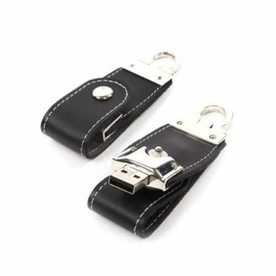 BrinClass - Pen drive em couro personalizado