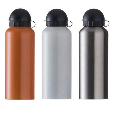 BrinClass - Squeeze de alumínio 500ml com pintura metalizada, tampa de bico rosqueável(não é térmico). Medidas aproximadas para gravação (CxD): 14 cm x 6 cm, Tama...