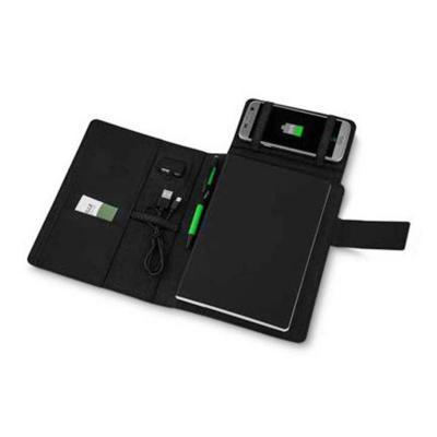 BrinClass - Caderno com Power Bank Indução Personalizado