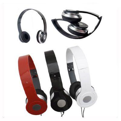 BrinClass - Fones de Ouvido estéreo dobrável.