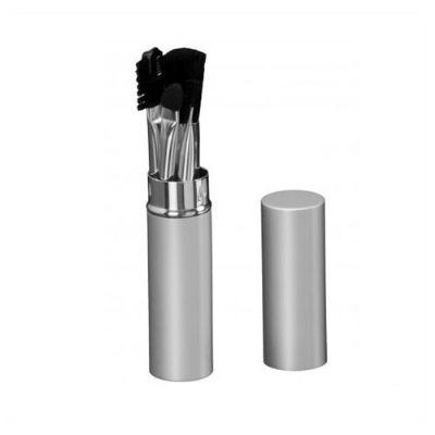 BrinClass - Kit maquiagem com tubinho de metal.