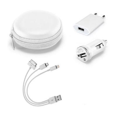 Brindes Play - Kit tecnológico USB