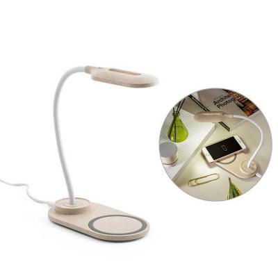 BrinClass - Luminária e Carregador Wireless Personalizada