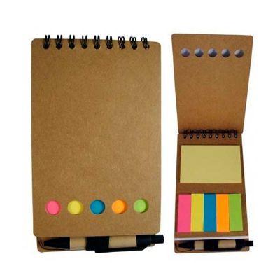 Brindes Play - Bloco de anotações com sticky notes