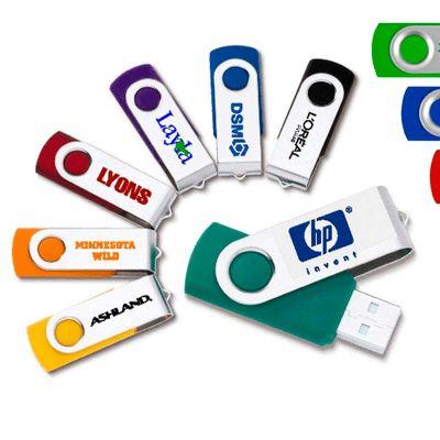 BrinClass - Pen drive giratório personalizado