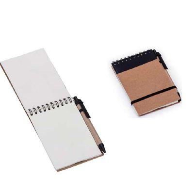 Brindes Play - Kit Bloco ecológico com caneta