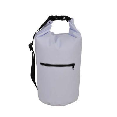 BrinClass - Mochila saco 20 litros à prova d´água. Material confeccionado em lona, possui costura soldada resistente, lacre dobrável, alça ajustável para costa(re...