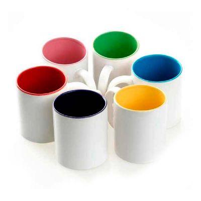 Topy 10 Brindes - Caneca de cerâmica colorida