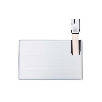 3RC Brindes - Pen card 4GB de alumínio