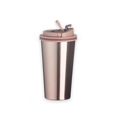 3RC Brindes - Copo de metal 450ml com tampa