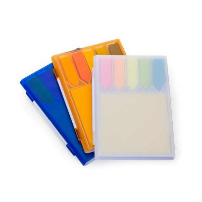 3RC Brindes - Bloco de anotações plástico com sticky notes
