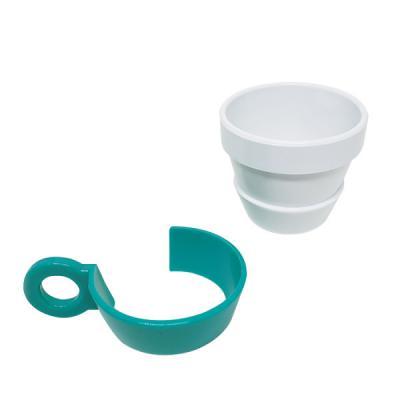 3RC Brindes - Conjunto de xícaras produzido em plastico ABS, Bisfenol free / Microondas / Lava-loucas