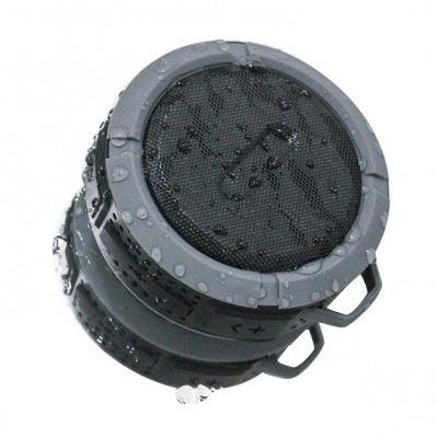 3RC Brindes - Caixa de som bluetooth/wireless à prova dágua com ventosa.