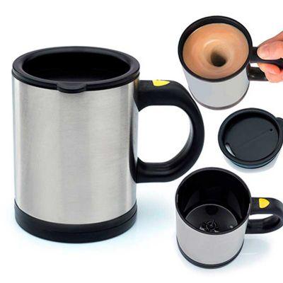 3RC Brindes - Caneca mixe com tampa protetora de alumínio e plástico