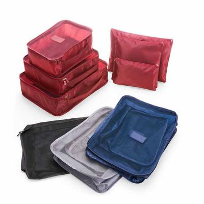 3RC Brindes - Kit necessaire em nylon com 6 peças