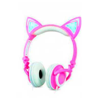 Diferente Mente Brindes - O Headset Orelhas de Gato é um opção divertida para quem gosta de unir estilo e tecnologia. Compatível com smartphones, tablets e computadores, o Head...