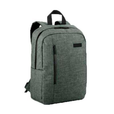 Diferente Mente Brindes - Mochila para notebook confeccionado em 600D de alta densidade. Compartimento forrado, com 2 divisórias almofadadas para notebook até 14'' e tablet 9.7...