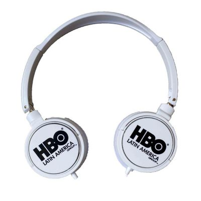 Diferente Mente Brindes - Fone de ouvido Head phone com regulagem de tamanho.
