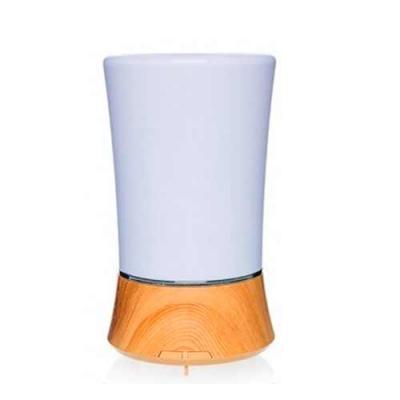 Diferente Mente Brindes - Aromatizador Elétrico, Aromaterapia, Umidificador LED, Não precisa refil!, Silencioso, Desliga sozinho quando acaba a água,Design elegante e sofistica...