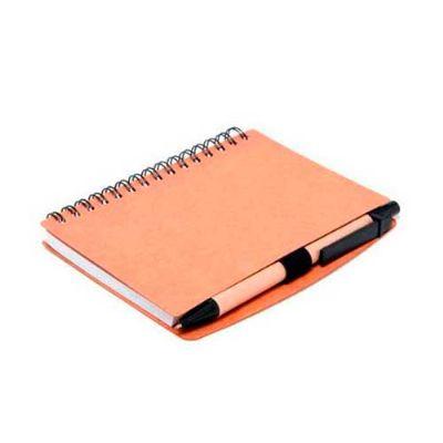 Energia Brindes - Bloco ecológico com 70 folhas e caneta.