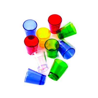 Energia Brindes - Copo de Acrílico Personalizado. Com capacidade de 60 ml, impressão da logo em silk-screen, cores variadas
