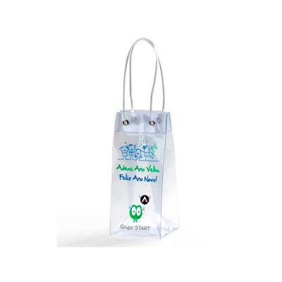 Energia Brindes - Sacola plástica personalizada.