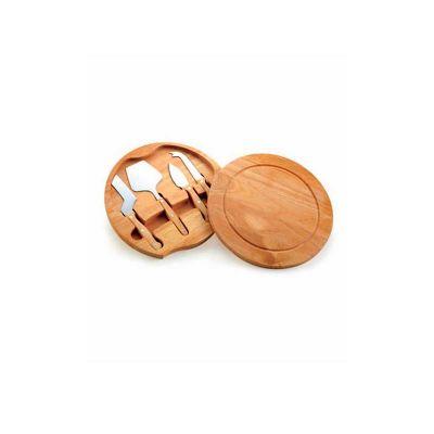 Energia Brindes - Kit de queijo personalizado com 5 peças.