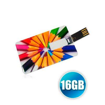 Energia Brindes - Pen card personalizado de 16gb.