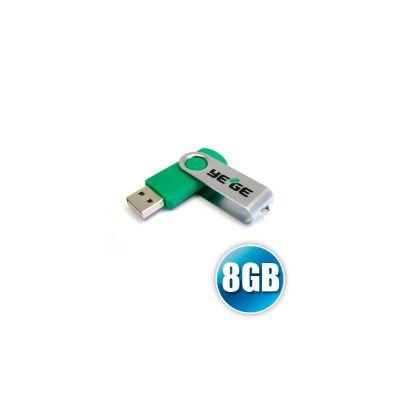 Energia Brindes - Pen drive personalizado com capacidade de 8GB.